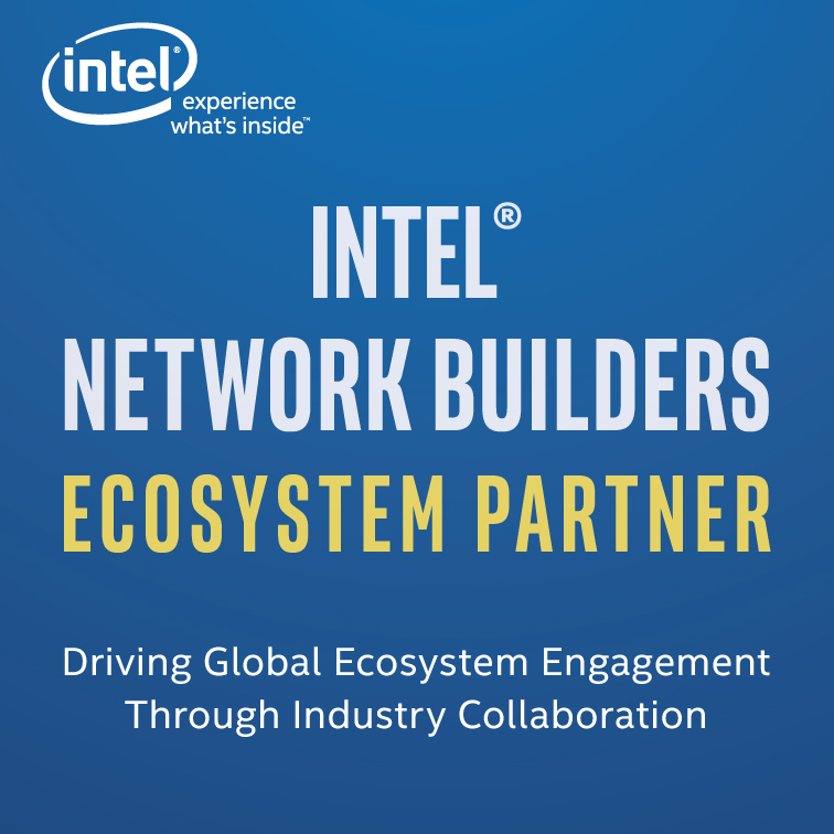 Intel Network builder's logo