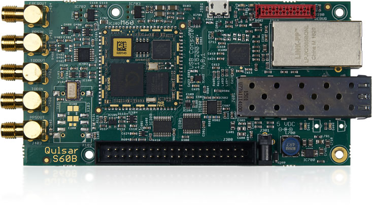Managed Timing Engine Board P62 or P64 for PTP Slave or PTP Grandmaster